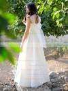 Sweetheart Princess Floor-length Taffeta Beading Wedding Dresses #DOB00021279