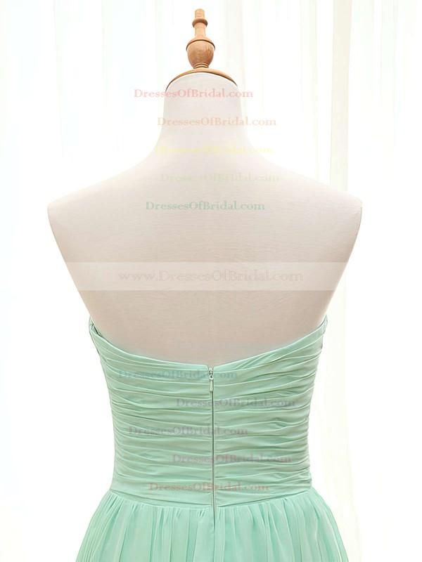 Perfect Sweetheart Chiffon with Ruffles A-line Bridesmaid Dresses #DOB01012407
