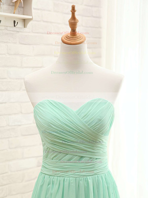Perfect Sweetheart Chiffon with Ruffles A-line Bridesmaid Dresses #DOB01012407