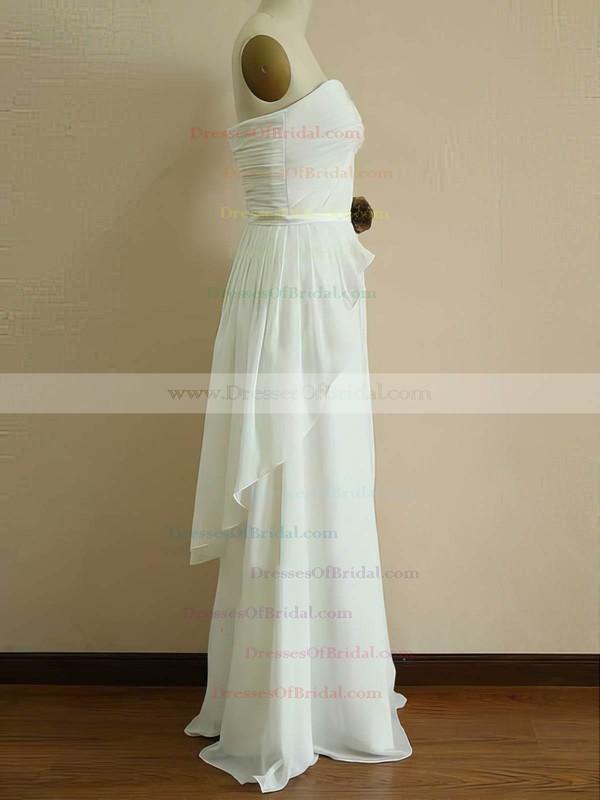 Sweetheart Princess Floor-length Chiffon Ruffles Bridesmaid Dresses #DOB01012453