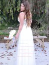 Sweetheart Princess Floor-length Tulle Ruffles Wedding Dresses #DOB00021434