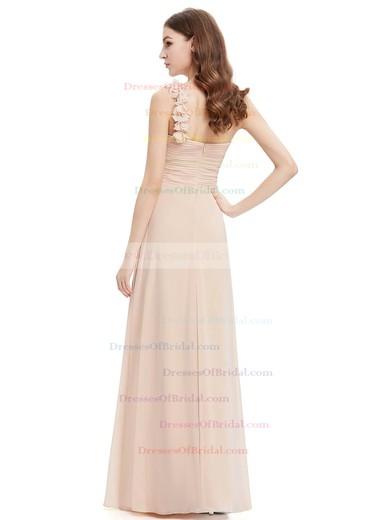 Beautiful Empire Chiffon with Ruffles One Shoulder Bridesmaid Dresses #DOB01012723