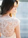 V-neck Elegant Lace Sashes / Ribbons Short/Mini Sheath/Column Bridesmaid Dresses #DOB01012752