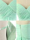 Sweetheart Chiffon Floor-length Ruffles Juniors Bridesmaid Dresses #DOB01012817