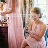 A-line Scoop Neck Chiffon Floor-length Ruffles Sexy Bridesmaid Dresses #DOB01012900