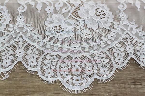 Online Scoop Neck Chiffon with Lace Floor-length Open Back Trumpet/Mermaid Wedding Dresses #DOB00022545
