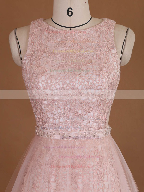 Scoop Neck Sheath/Column Lace Tulle with Sequins Detachable Wholesale Wedding Dresses #DOB00022729