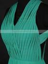 Chiffon A-line V-neck Floor-length with Ruffles Bridesmaid Dresses #DOB01013124