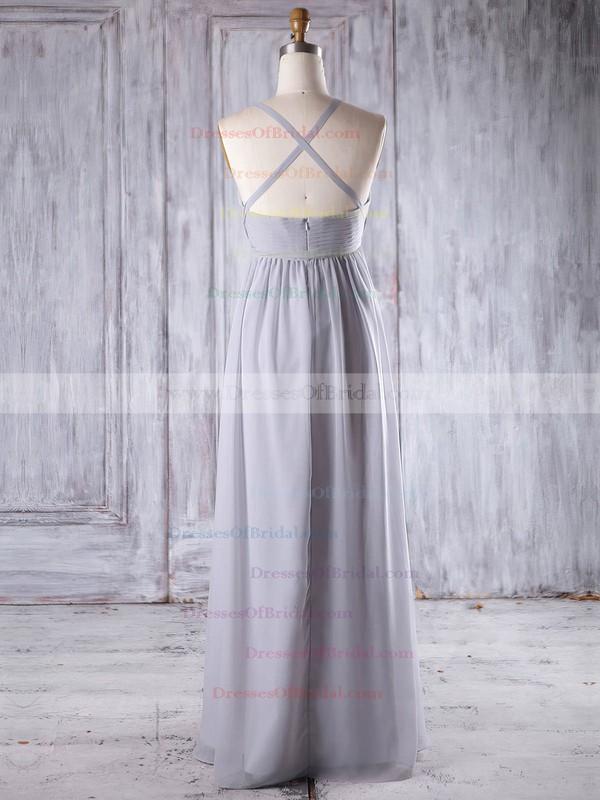 Chiffon Empire Sweetheart Floor-length with Ruffles Bridesmaid Dresses #DOB01013258