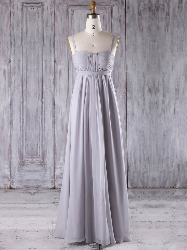 Chiffon Empire Sweetheart Floor-length with Sashes / Ribbons Bridesmaid Dresses #DOB01013277