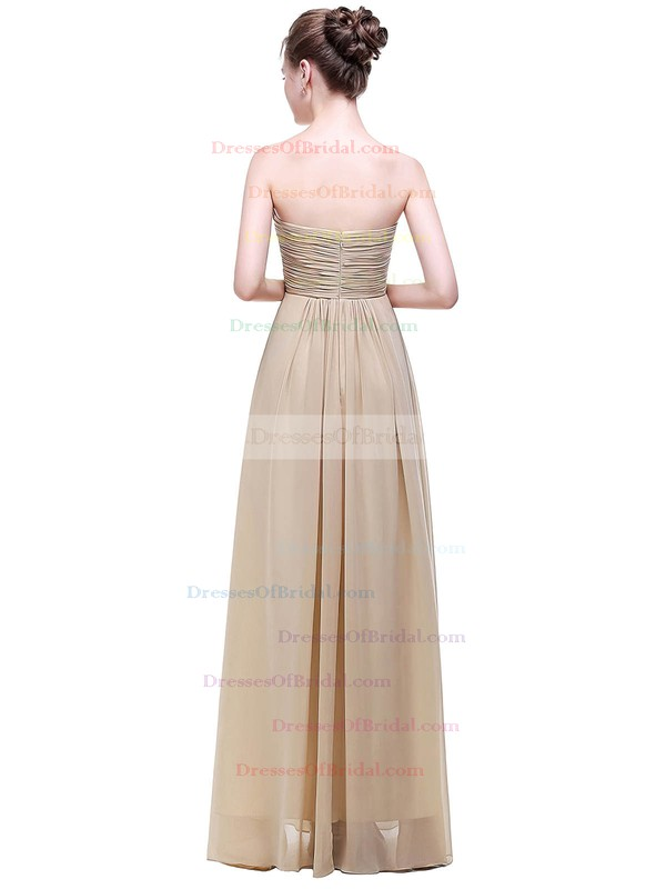 Chiffon Empire Sweetheart Floor-length with Ruffles Bridesmaid Dresses #DOB01013452