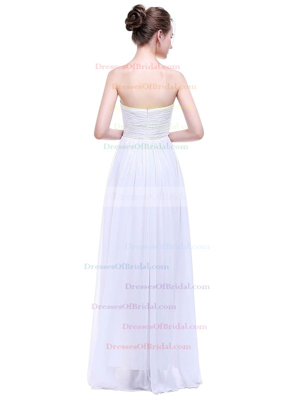 Chiffon Empire Sweetheart Floor-length with Ruffles Bridesmaid Dresses #DOB01013458
