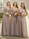 Chiffon A-line Sweetheart Floor-length Ruffles Bridesmaid Dresses #DOB01013684
