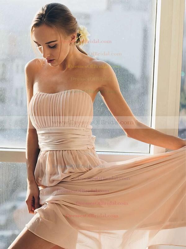 Chiffon Empire Sweetheart Floor-length Sashes / Ribbons Bridesmaid Dresses #DOB01013692