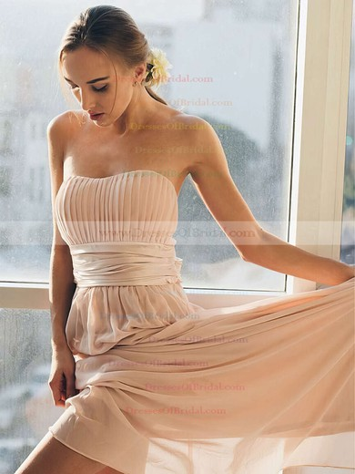 Chiffon Empire Sweetheart Floor-length Sashes / Ribbons Bridesmaid Dresses #DOB01013692