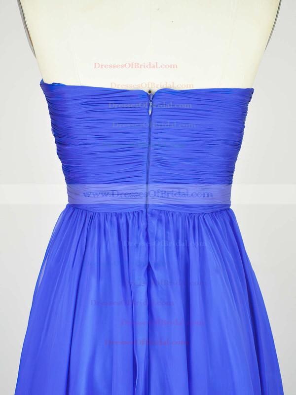 Empire Sweetheart Chiffon Floor-length with Pleats Bridesmaid Dresses #DOB010020104239